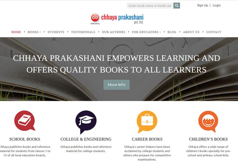 Card image of a publisher's website - Chhaya Prakashani