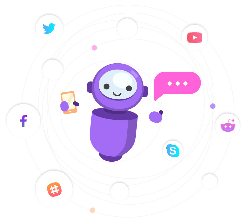 Card image of a chatbot