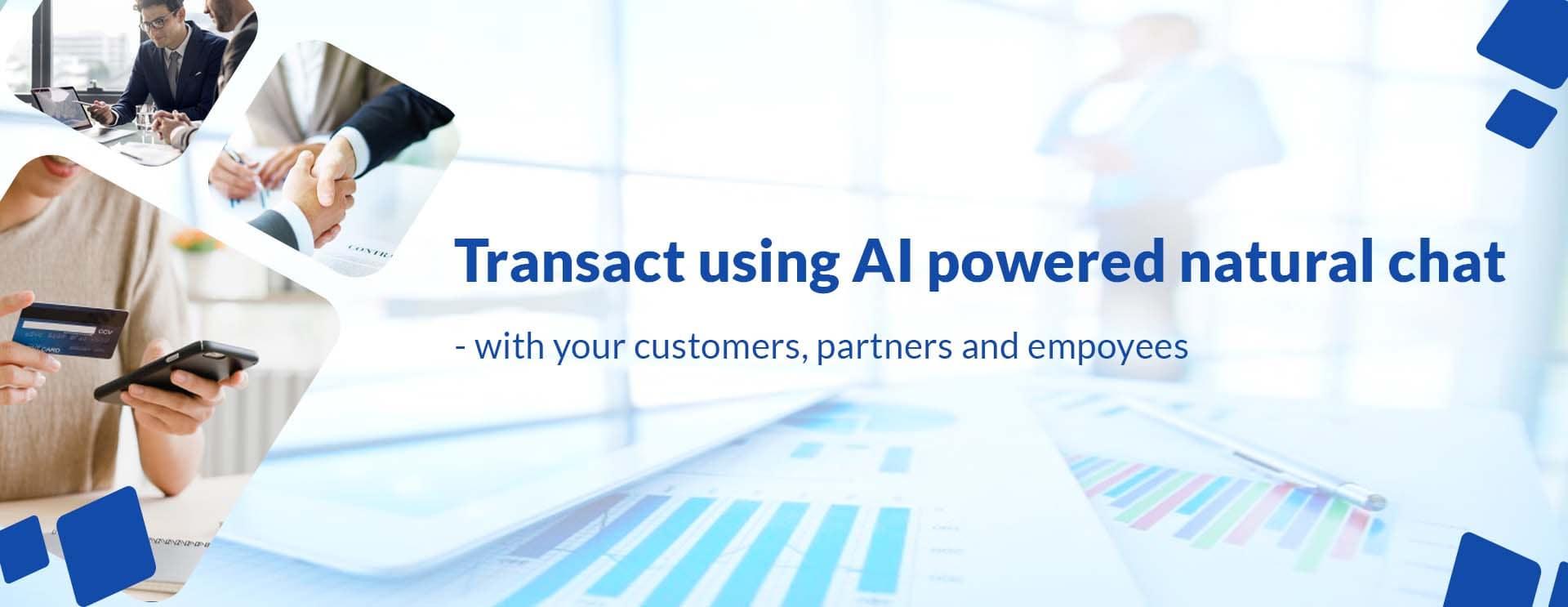 AI powered natural chat