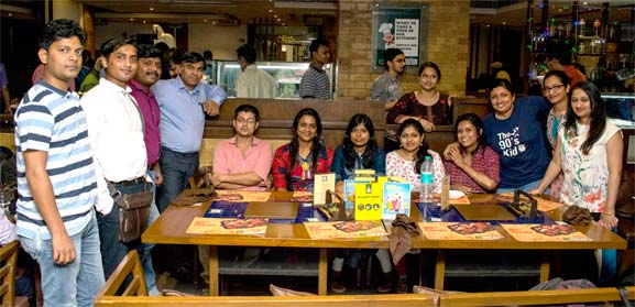 A casual evening with NCRTS team of India