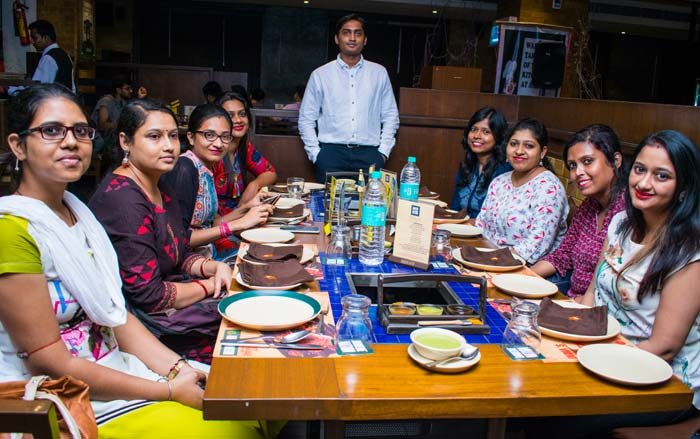 Dinner with NCRTS India Team