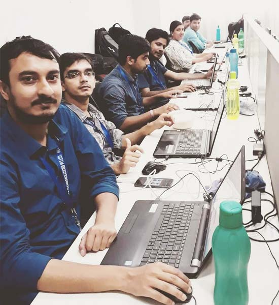 NCRTS Team working at India office