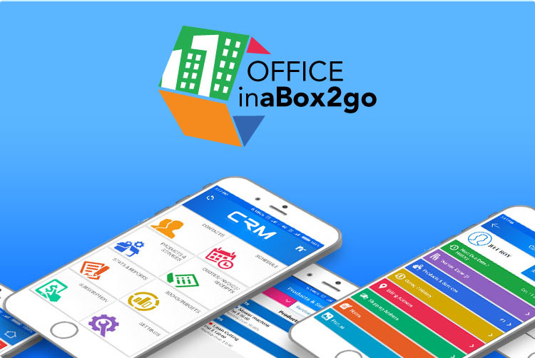 Card image for Officeina box2go App