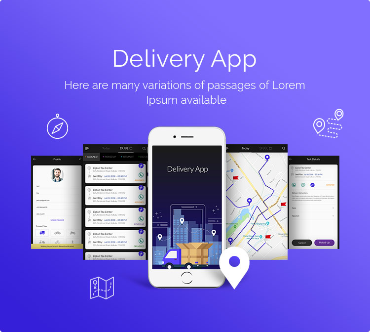 Card image for Delivery App