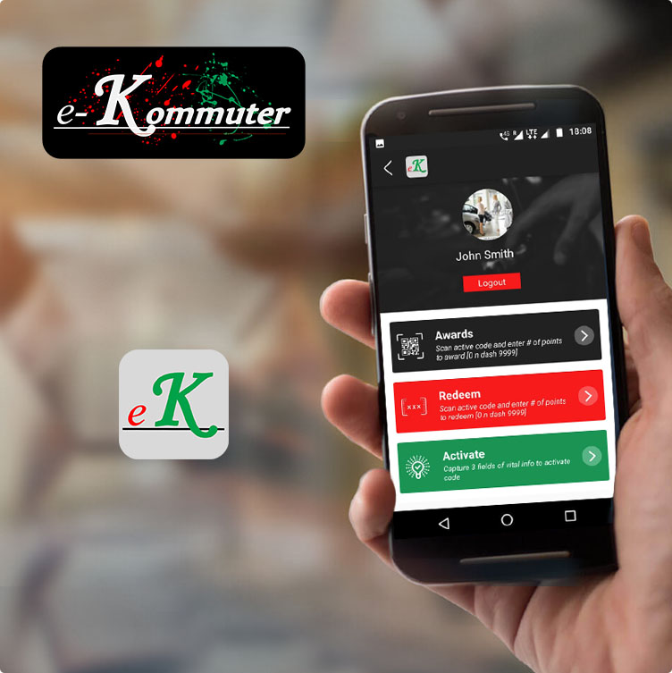 Card Image for e-kommuter app