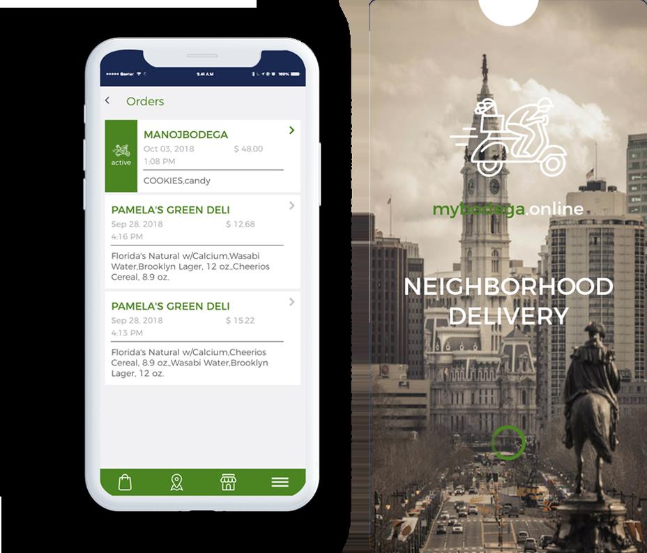 Image of Handcrafted mybodega mobile app